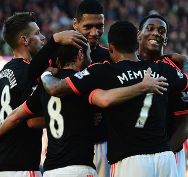 Southampton 2-3 Manchester United: Martial Cetak Dua Gol, United Pepet City