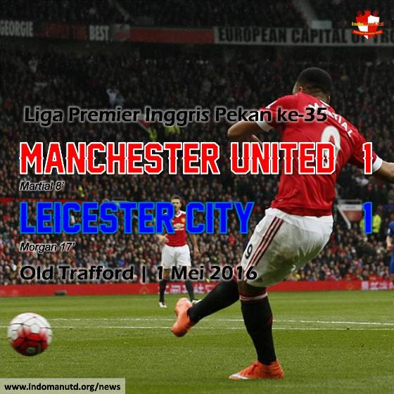 Review: Manchester United 1-1 Leicester City
