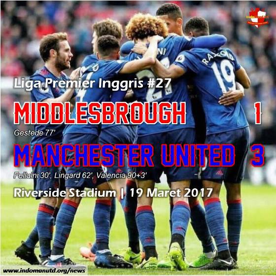 Review: Middlesbrough 1-3 Manchester United