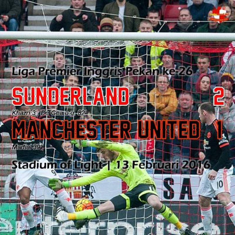 Review: Sunderland 2 -1 Manchester United