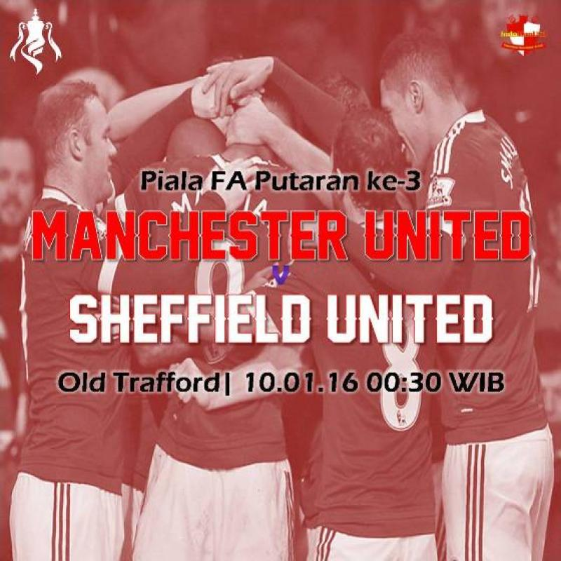 Preview: Piala FA - Manchester United vs Sheffield United