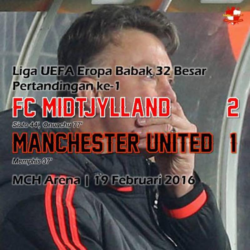 Review: FC Midtjylland 2-1 Manchester United