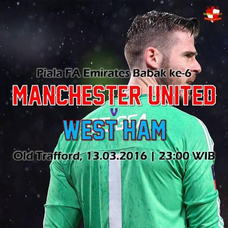 Preview: Piala FA - Manchester United vs West Ham