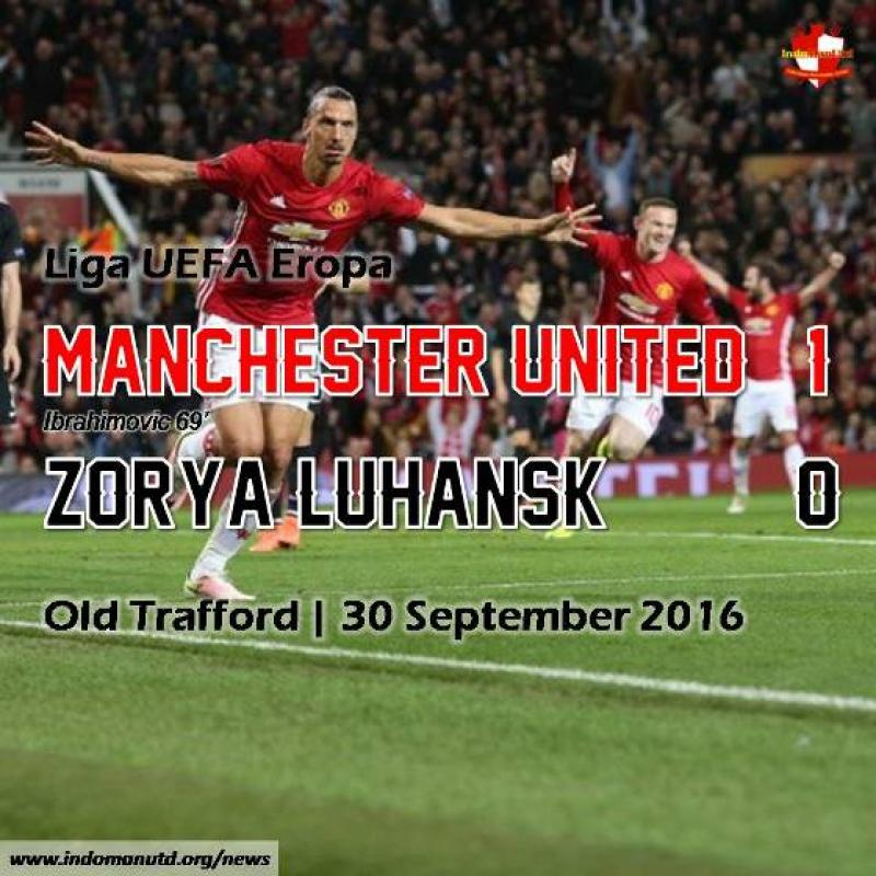Review: Manchester United 1-0 Zorya Luhansk