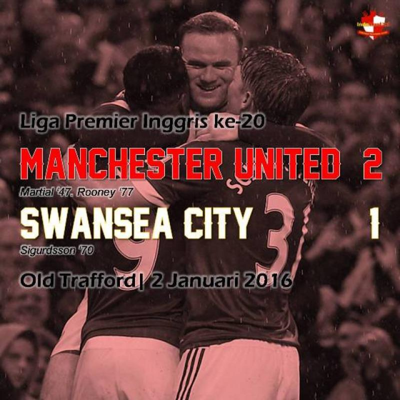 Review: Manchester United 2-1 Swansea City