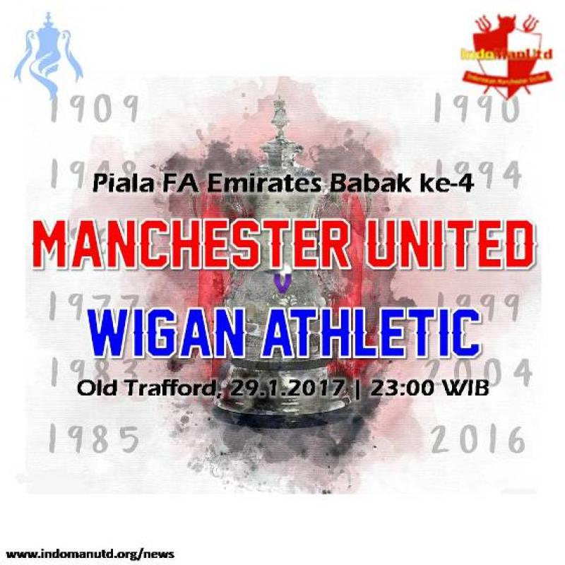 Preview - Piala FA : Manchester United vs Wigan Athletic