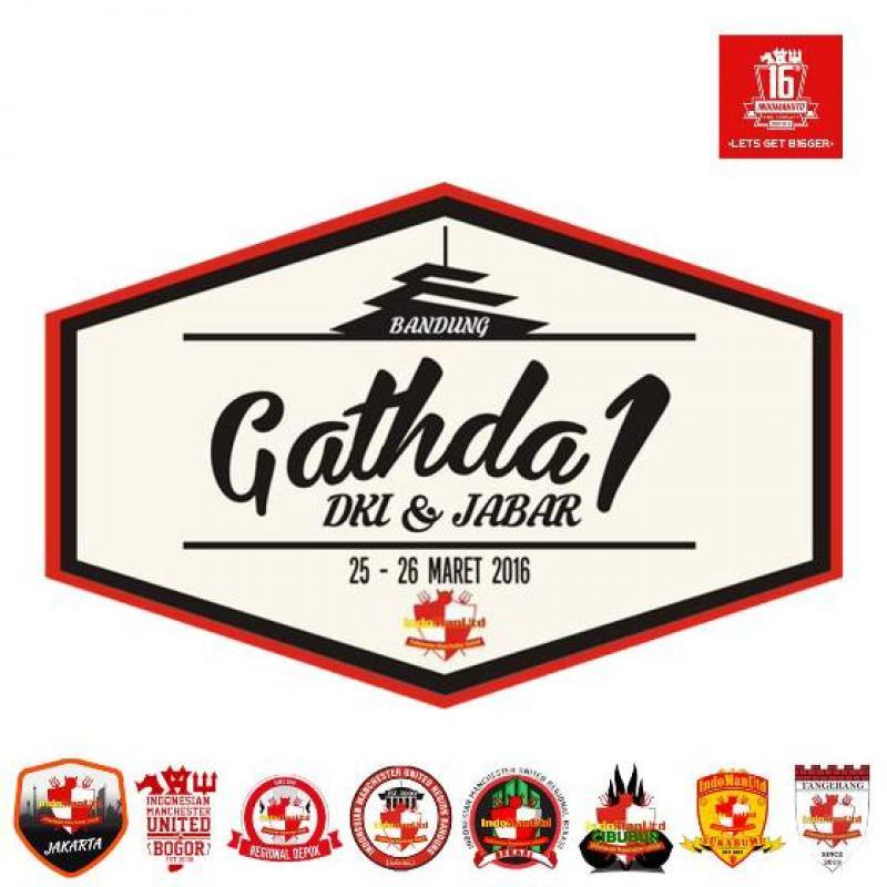 Gathda IndoManUtd Area DKI dan Jabar ke-1