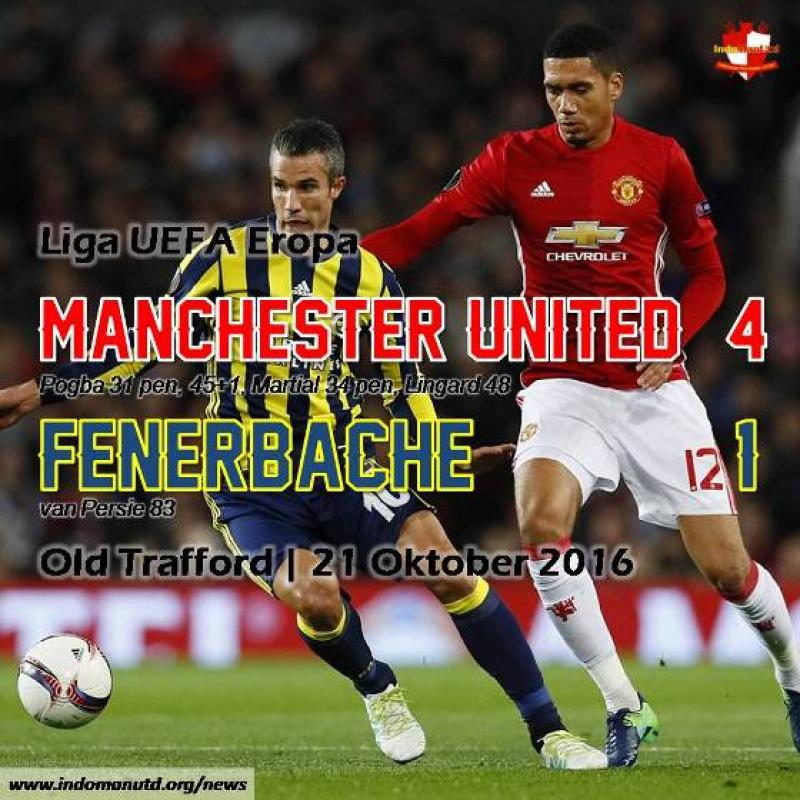 Review: Manchester United 4-1 Fenerbahce
