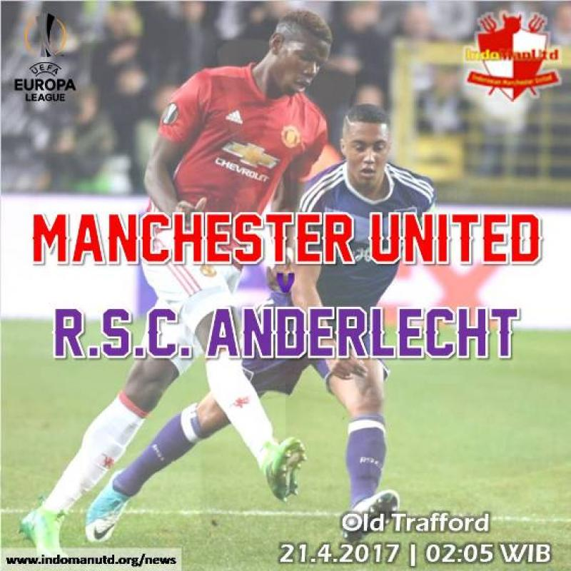Preview - Piala UEFA: Manchester United vs R.S.C. Anderlecht