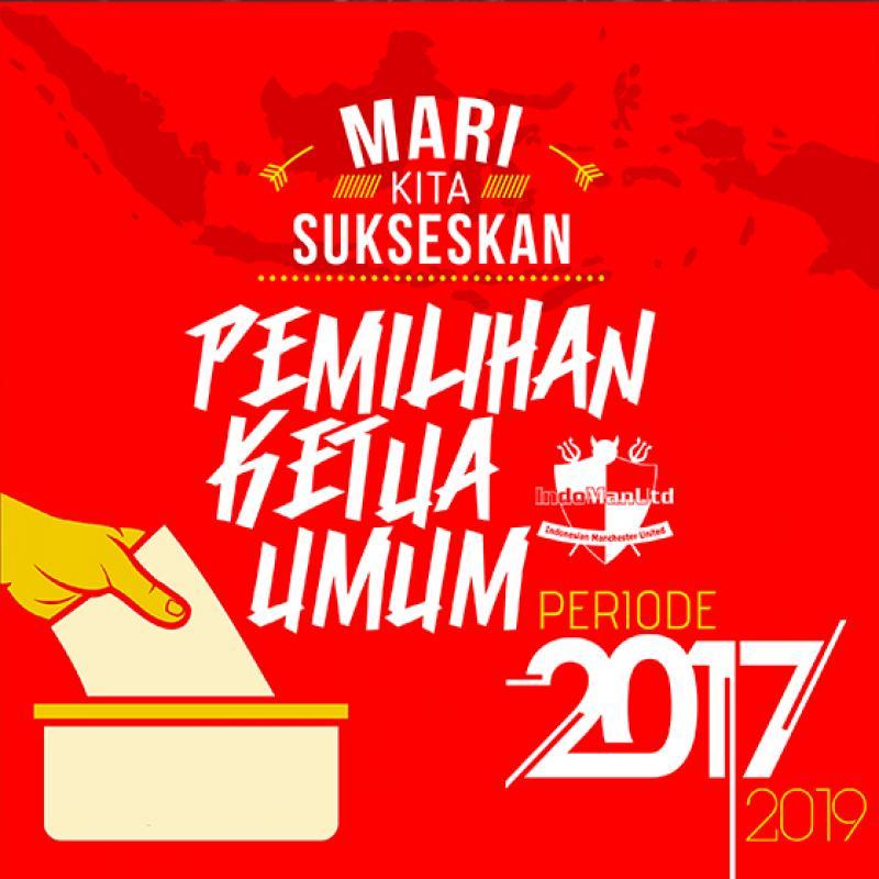 Pemilihan Ketua Umum Indonesian Manchester United Periode 2017-2019
