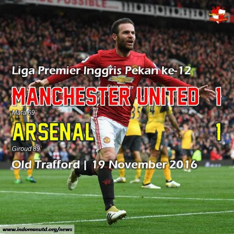 Review: Manchester United 1-1 Arsenal