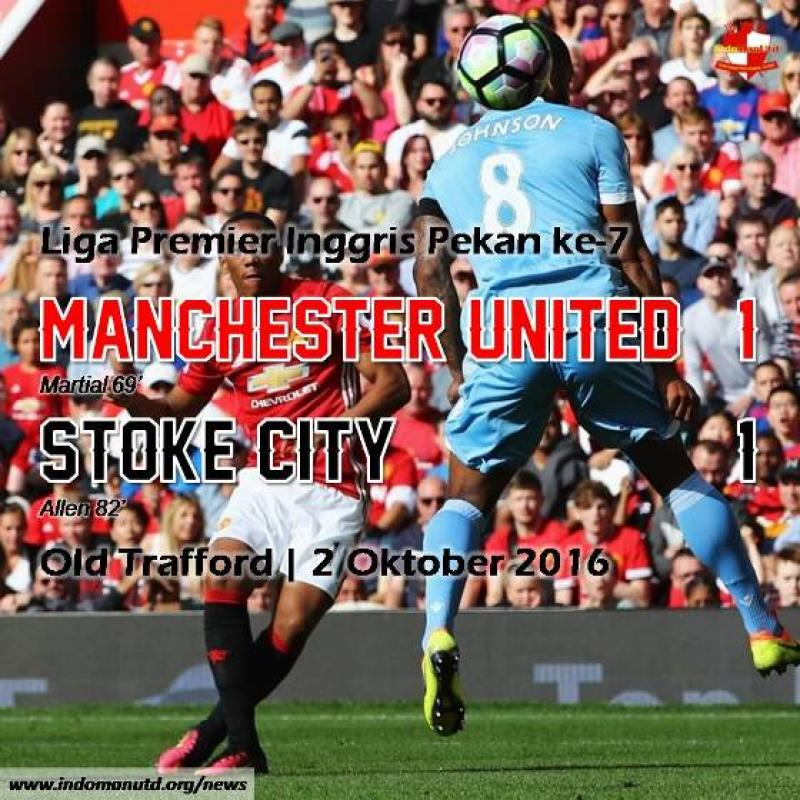 Review: Manchester United 1-1 Stoke City