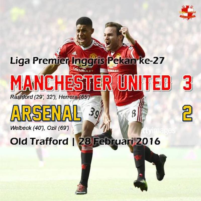 Review: Manchester United 3-2 Arsenal