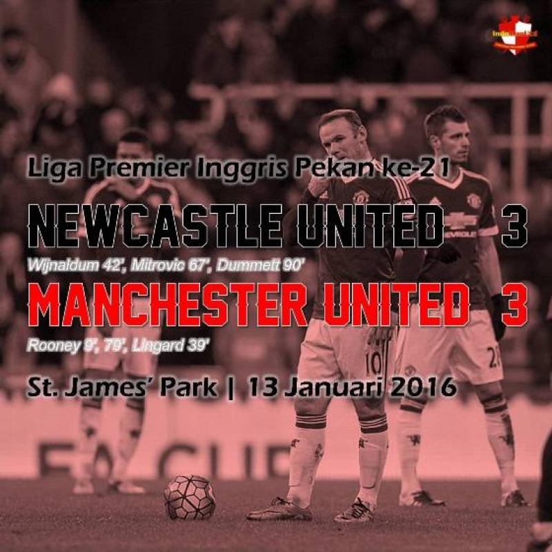 Review: Newcastle United 3-3 Manchester United