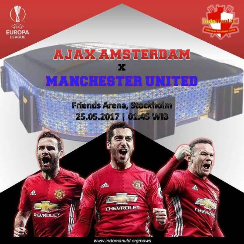 Preview - Final Liga Eropa UEFA: Ajax vs Manchester United