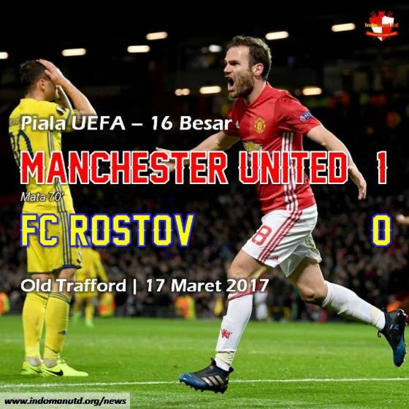 Review Piala UEFA: Manchester United 1-0 FC Rostov