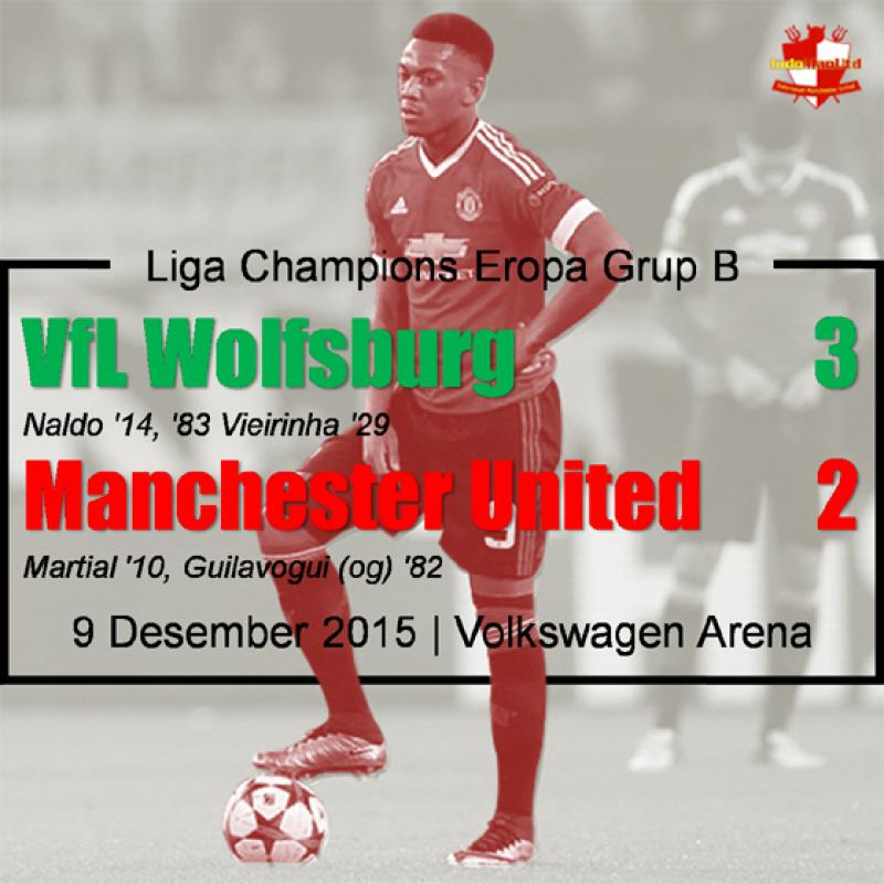 Review: VfL Wolfsburg 3-2 Manchester United