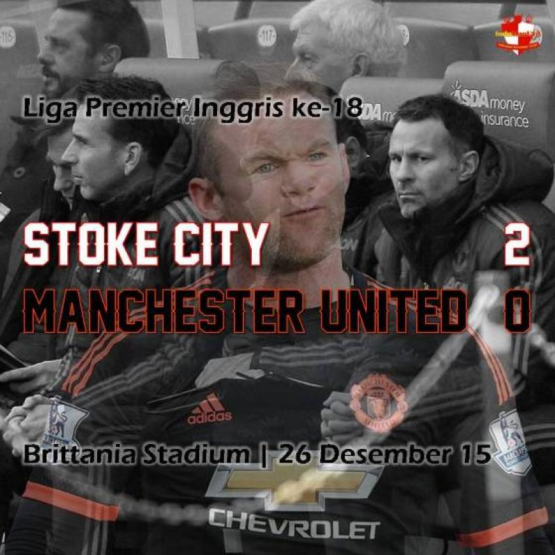 Review: Stoke City 2-0 Manchester United