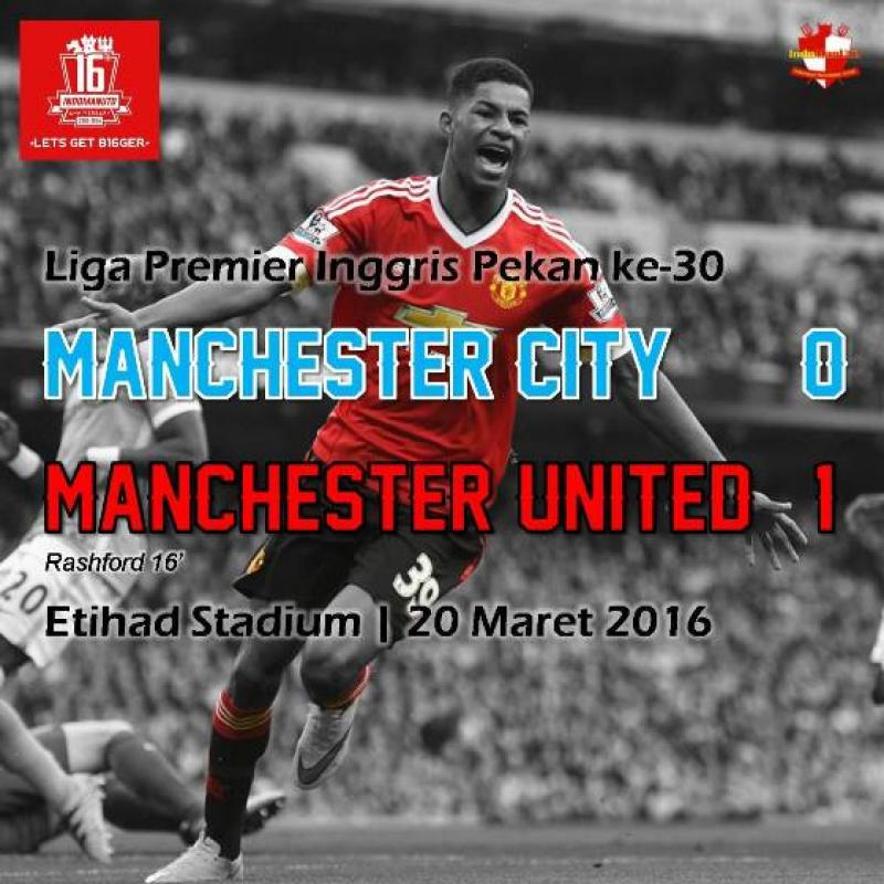 Review: Manchester City 0-1 Manchester United