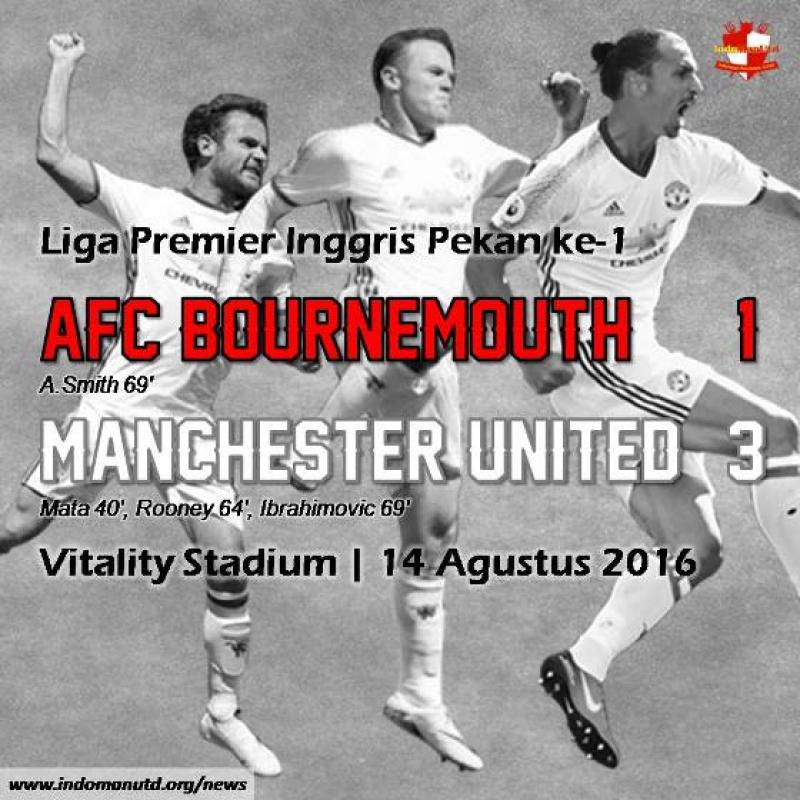 Review: AFC Bournemouth 1-3 Manchester United