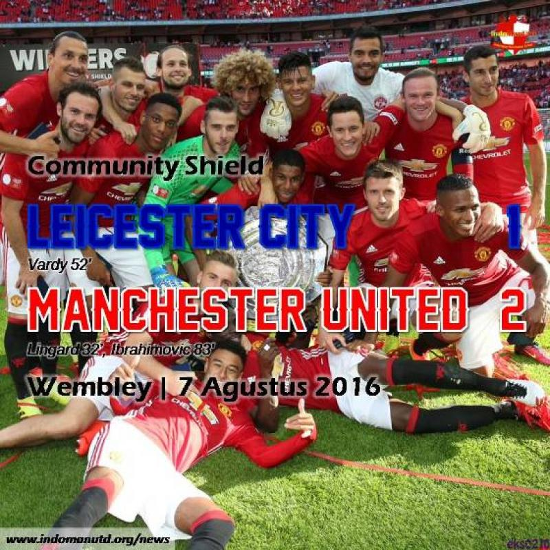 Review: Community Shield - Leicester City 1-2 Manchester United
