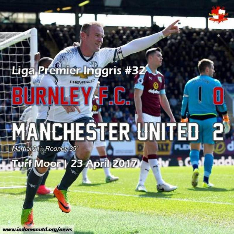Review: Burnley F.C. 0-2 Manchester United