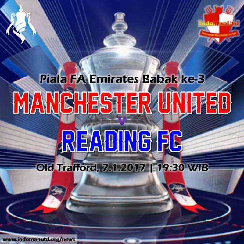 Preview: Piala FA - Manchester United vs Reading