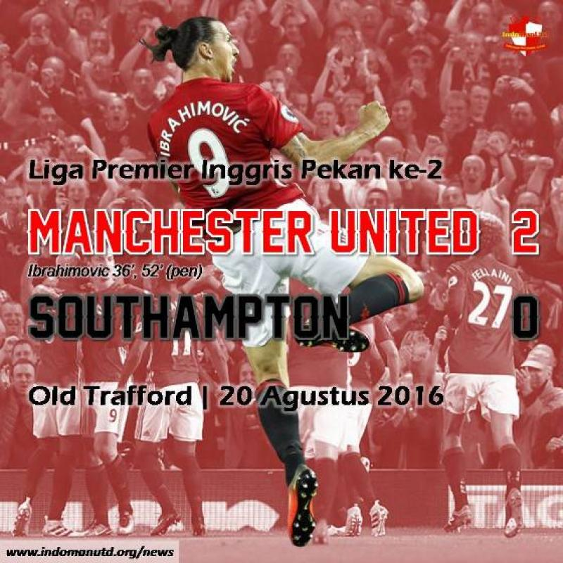 Review: Manchester United 2-0 Southampton