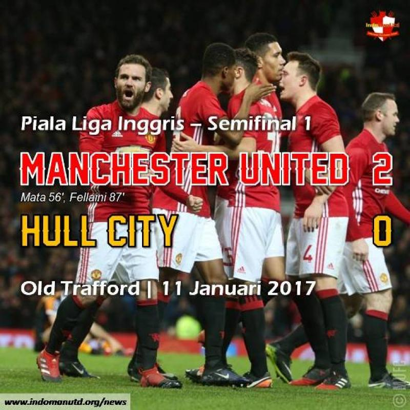 Review - Piala Liga : Manchester United 2-0 Hull City