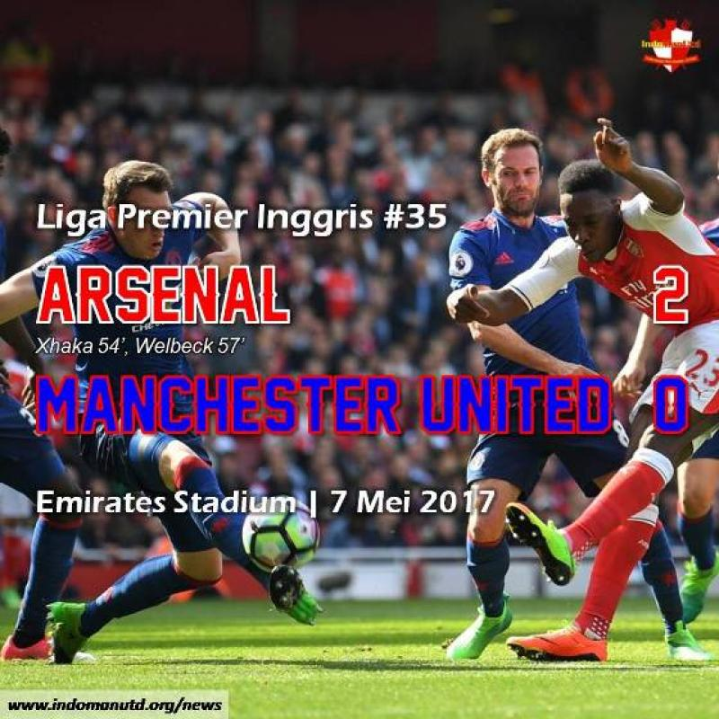 Review: Arsenal 2-0 Manchester United