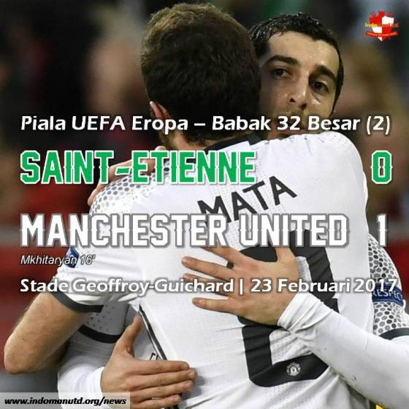 Review - Piala UEFA: Saint-Etienne 0-1 Manchester United (0-4)