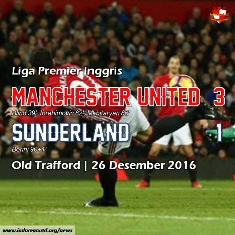 Review: Manchester United 3-1 Sunderland