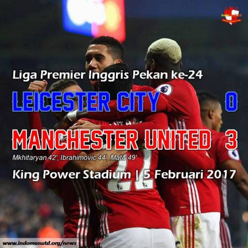 Review: Leicester City 0-3 Manchester United