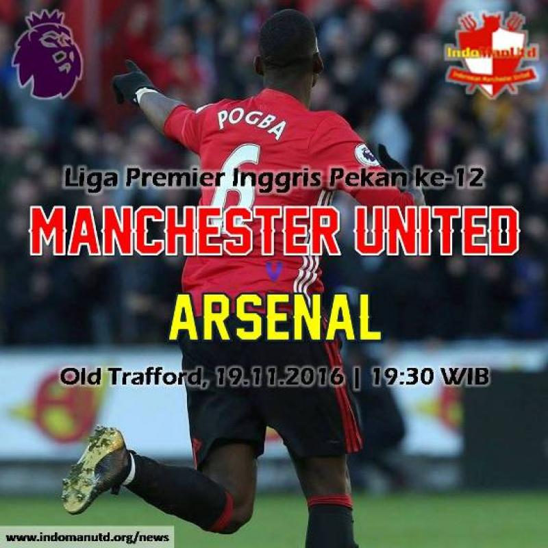 Preview: Manchester United vs Arsenal