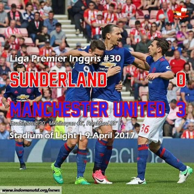 Review: Sunderland 0-3 Manchester United