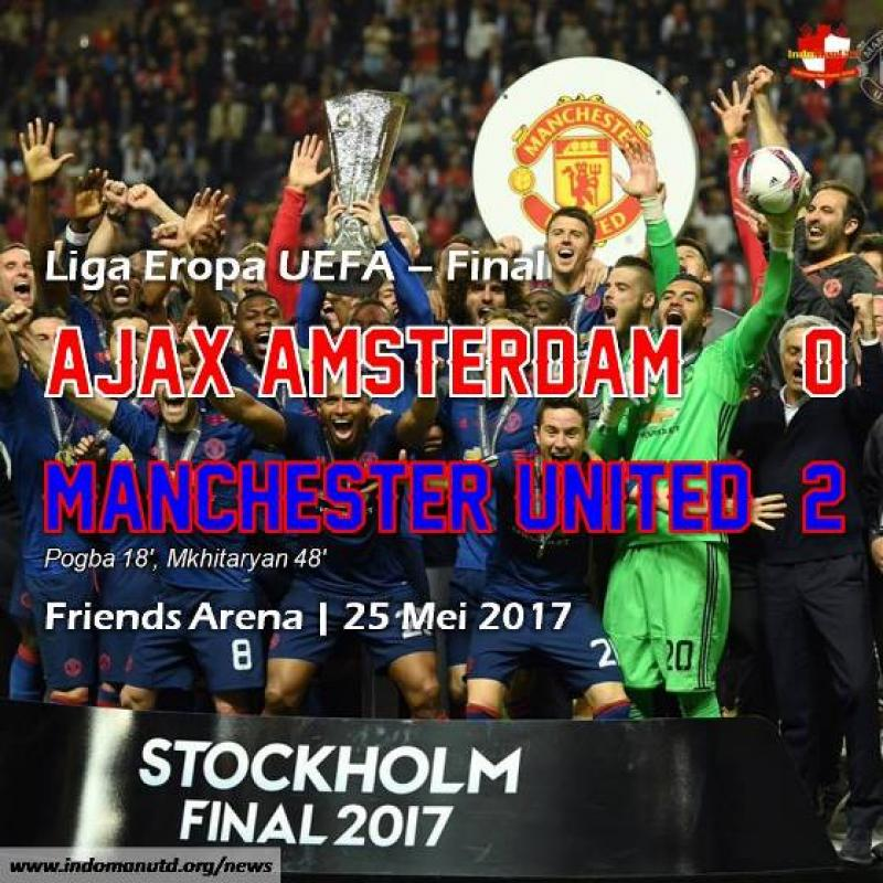 Review - Final Liga Eropa UEFA: Ajax 0-2 Manchester United
