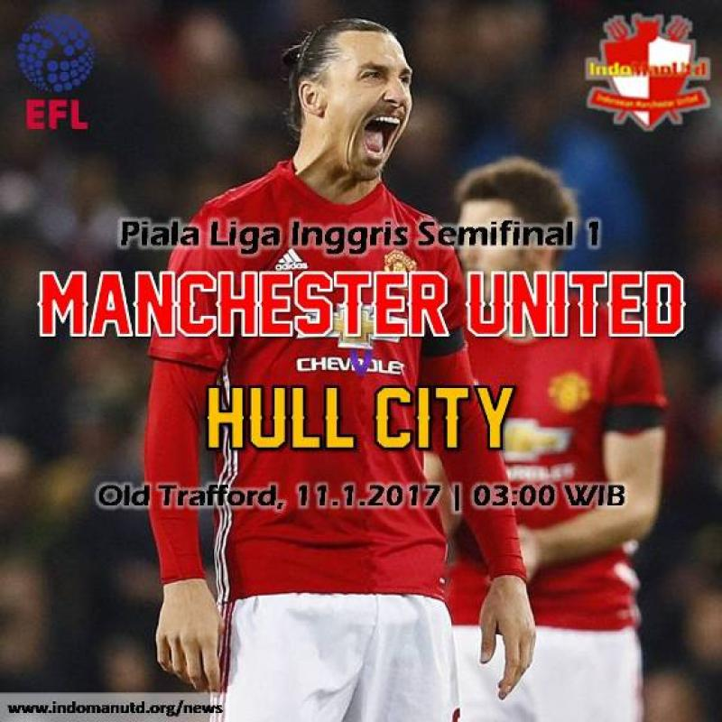 Preview: Piala Liga - Manchester United vs Hull City