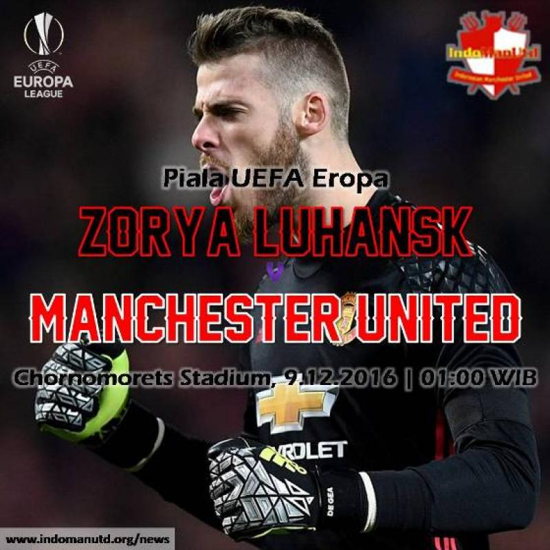 Preview: Zorya Luhansk vs Manchester United