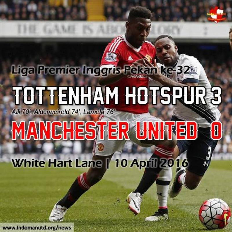 Review: Tottenham Hotspur 3-0 Manchester United