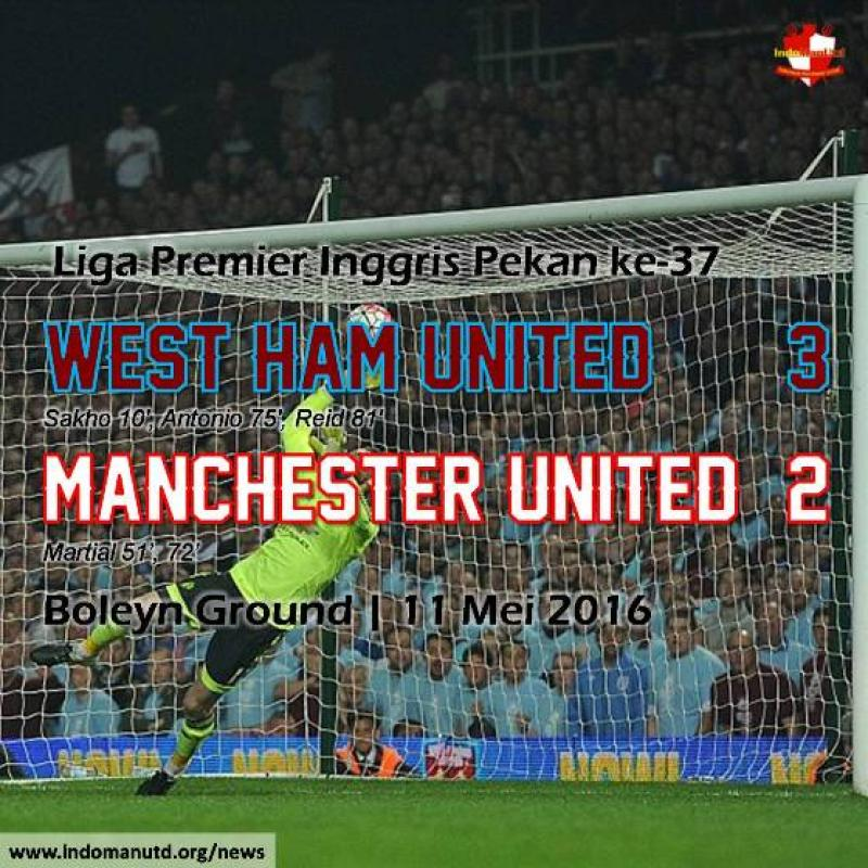 Review: West Ham United 3-2 Manchester United