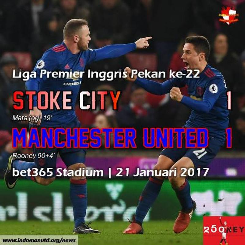 Review: Stoke City 1-1 Manchester United