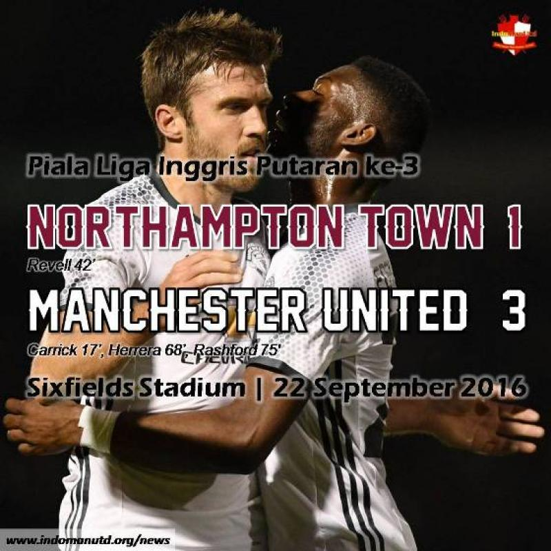 Review: Northampton Town 1-3 Manchester United