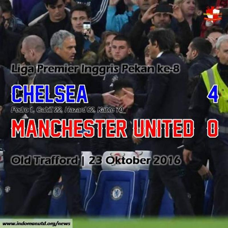 Review: Chelsea 4-0 Manchester United