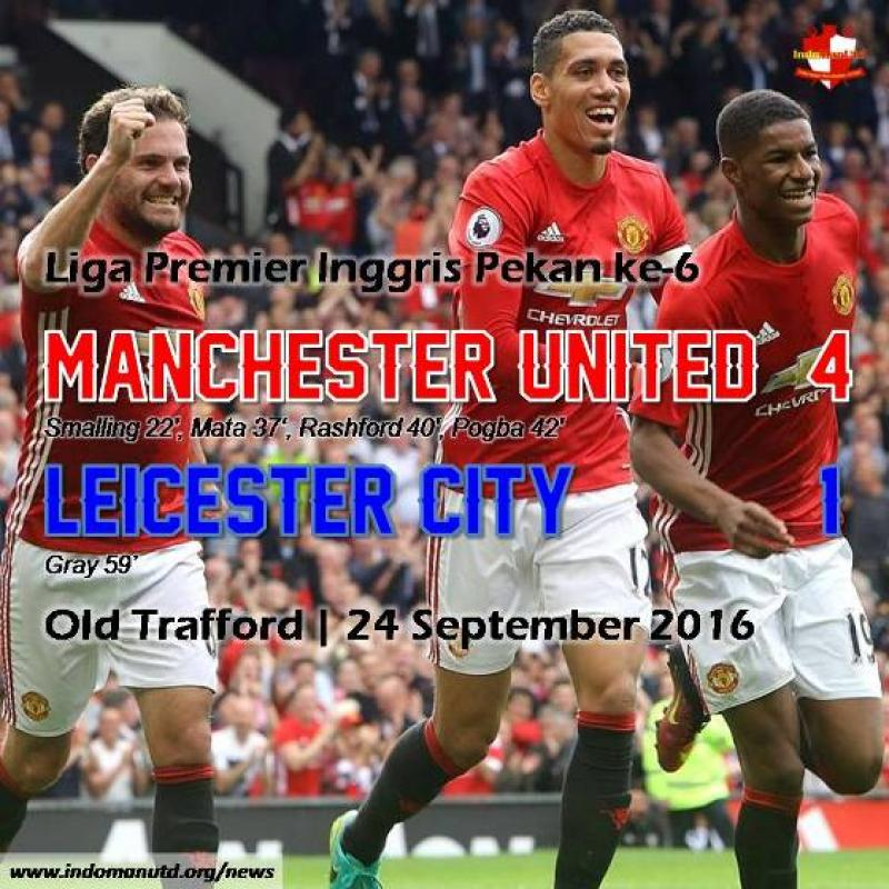 Review: Manchester United 4-1 Leicester City
