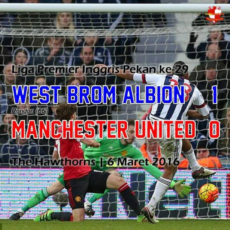 Review: West Bromwich Albion 1-0 Manchester United