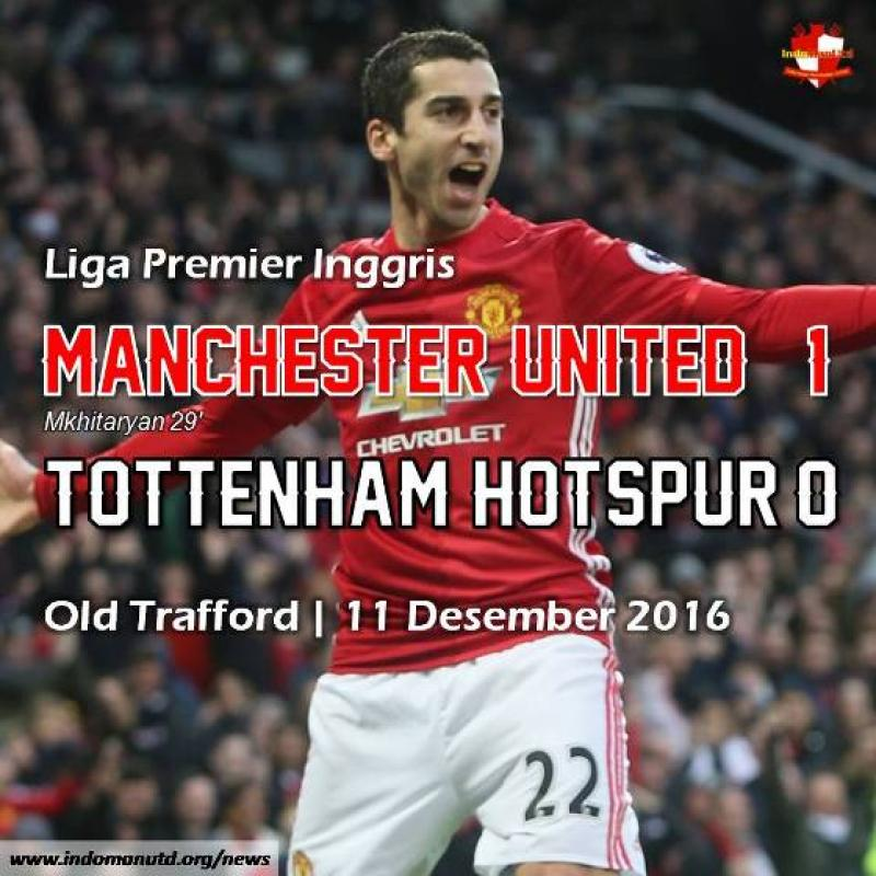Review: Manchester United 1-0 Tottenham Hotspur