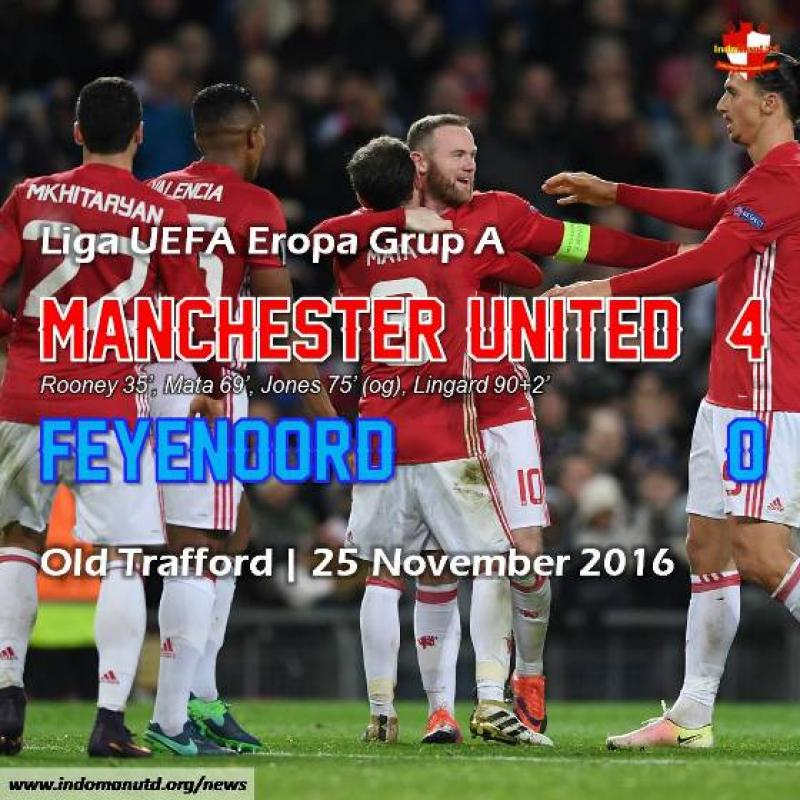 Review: Manchester United 4-0 Feyenoord