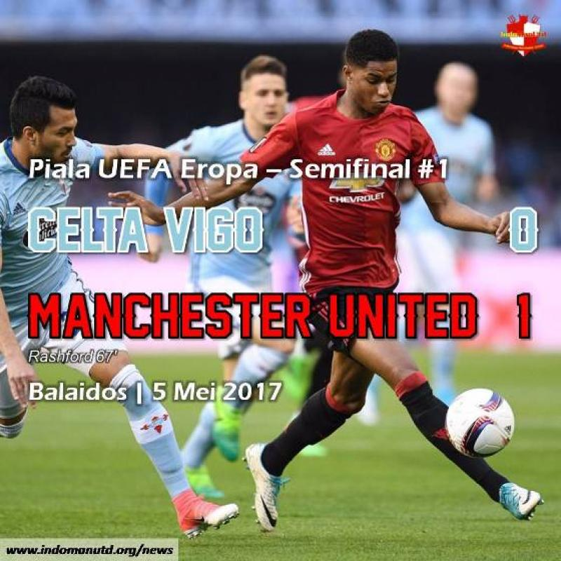 Review: Celta Vigo 0-1 Manchester United