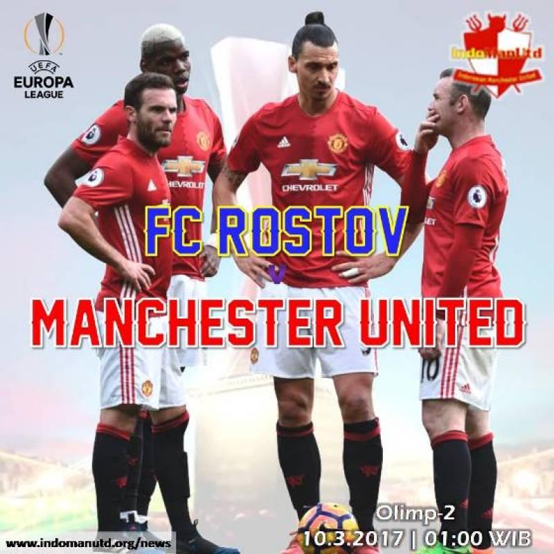 Preview - Piala UEFA: FC Rostov vs Manchester United