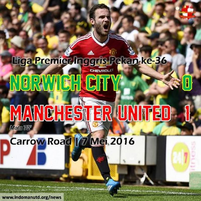 Review: Norwich City 0-1 Manchester United
